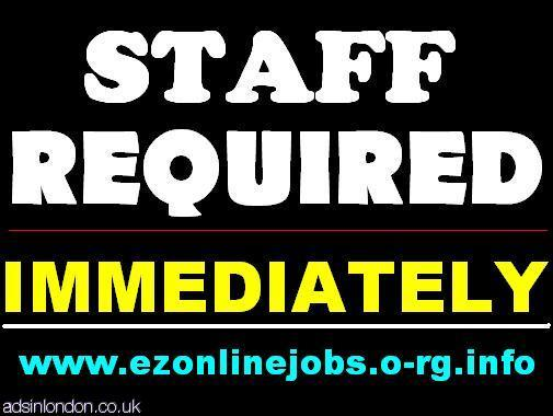 Full & Part Time Staff Needed Urgently.