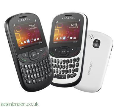 Alcatel OT-358 black- UK Pay And Go mobiles with vga camera