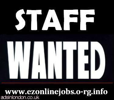 Part-Time Staff REQUIRED + Cash In Hand.