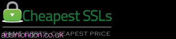 Cheapest RapidSSL at $8/Yr from CheapestSSLs.com #1