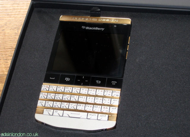 Blackberry Porsche Gold Design and Apple iphone 5 for sale #1