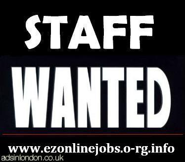 Full and Part Time Staff Required TODAY.