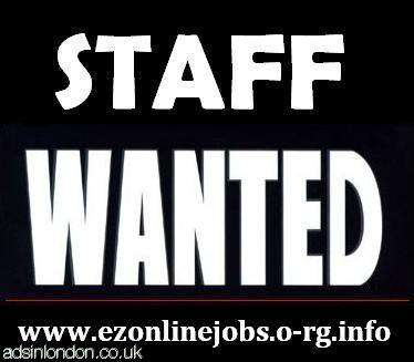 URGENTLY Part Time Staff Required....