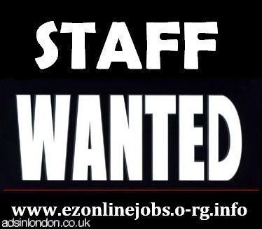 Staff Required To Begin This Weeks...