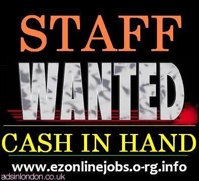 Part-Time Staff Required, Start Today.