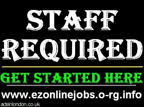 Part Time Staff REQUIRED + CASH In Hand.