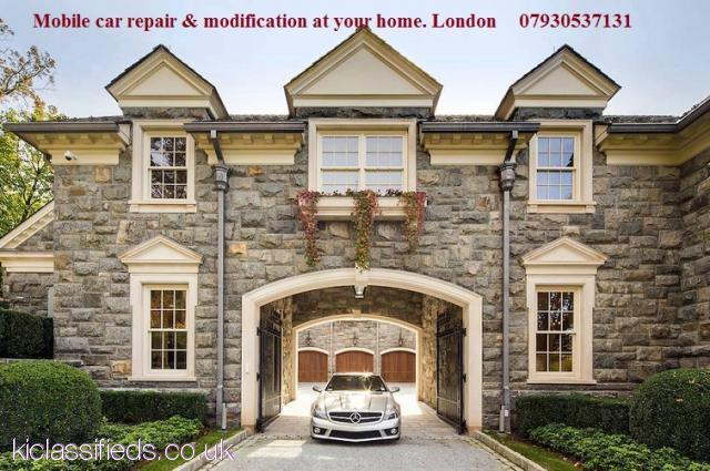 Mobile car body repair at your home East London, Central London (East London, North London,Central L