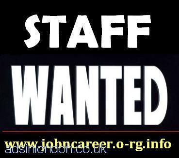 Part Time / Full Time / Staff Required URGENTLY