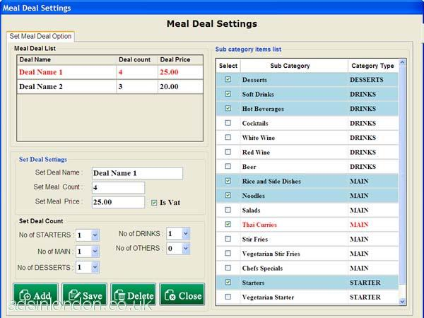 Restaurant Utilities - Restaurant Point of Sale Software #1