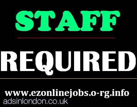 Part Time Staff Required URGENTLY
