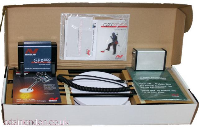 Minelab Gpx5000 gold detector and more for sale