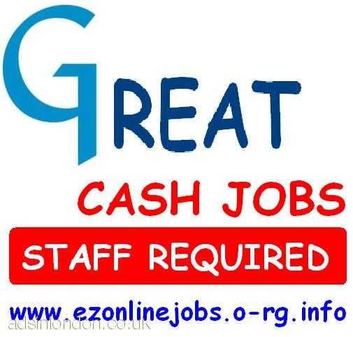 Offering P/T CASH Job (10 x Staff Required)