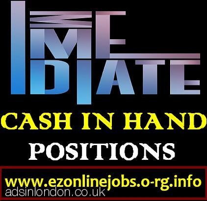 Offer Part/Time CASH Job (Immediate Start)