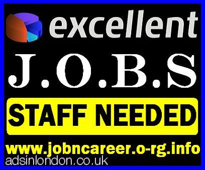 Weekend Staff Wanted For Excellent Jobs