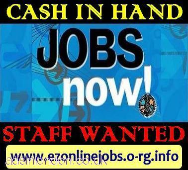 WEEKLY Staff Required, Great Cash Pay