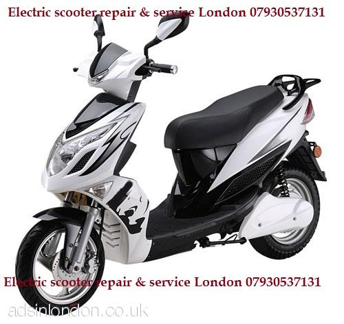 Electric scooter repair London  07930537131 Electric scooter welding,