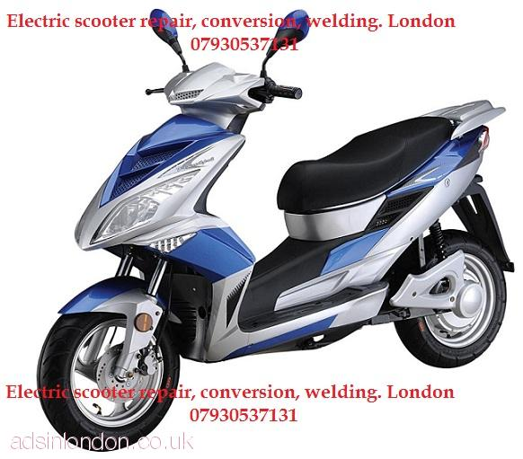 Electric bike repair London service, maintenance, conversion, welding