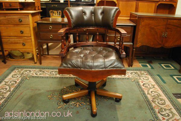 Writing Desks, Office Captain Chairs For Sales #1