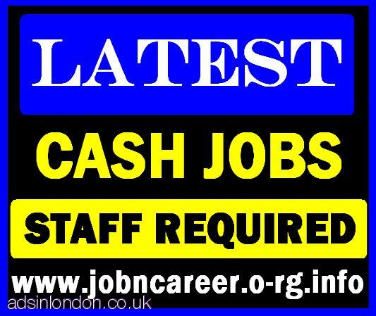 CASH JOBS 2 x Part Time Staff Required