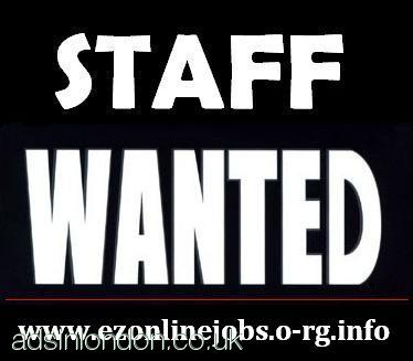 NEW JOBS = 10 x PART TIME STAFF REQUIRED