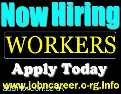 HIRING Workers Urgently Part Time & Full Time