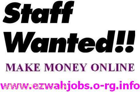 CASH Job Offered : Full & Part Time Staff.