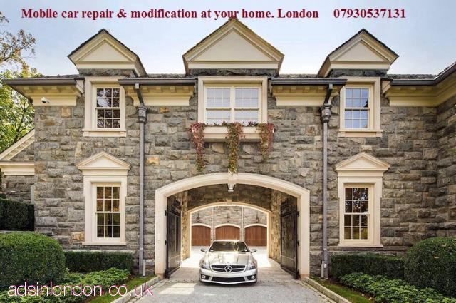 Mobile car body repair at your home  East London, Central London