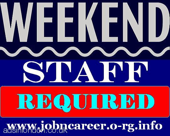 Weekend Cash Vacancies (Staff Wanted)