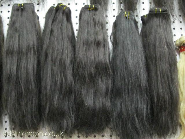 Wholesale Virgin Brazilian and Peruvian Hair Extensions/Virg #1
