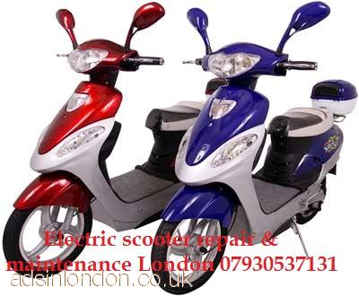 Electric scooter repair London  07930537131 Electric scooter welding