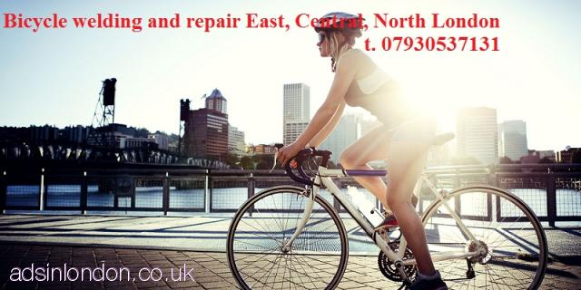 Mobile bike bicycle welding, bicycle repair, conversion  London