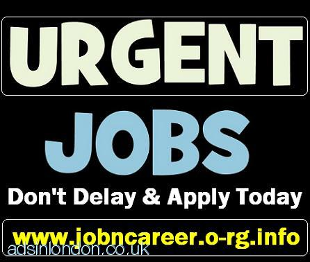 STAFF Required For Part Time Cash Jobs