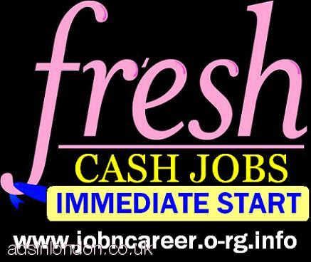 Urgently Staff Needed To Immediate Start