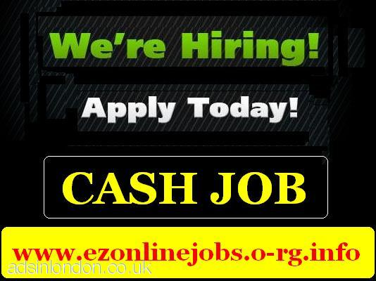 Staff REQUIRED for Urgent Cash Vacancies.