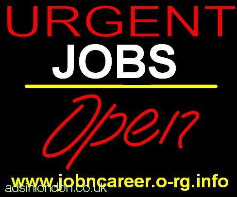 URGENT 15 x Part Time Workers Required.
