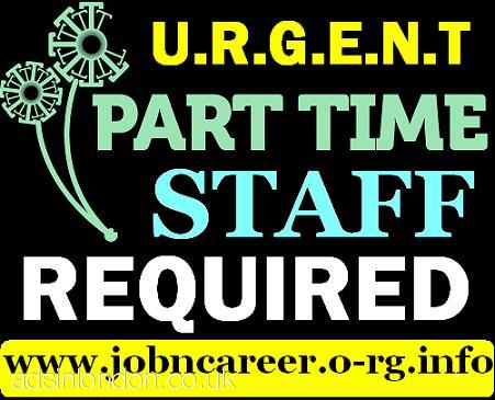 10 x Part Time Staff Required (CASH PAY)
