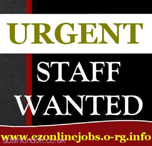 URGENT STAFF REQUIRED - CASH IN HAND JOB.