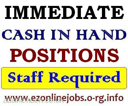Urgent PART TIME Staff Needed, Cash Pay