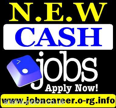 2 x NEW Cash Jobs (Urgent Staff Needed)