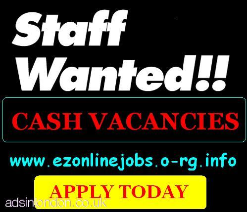 2 X Part/Time Staff Required (Apply immediately)
