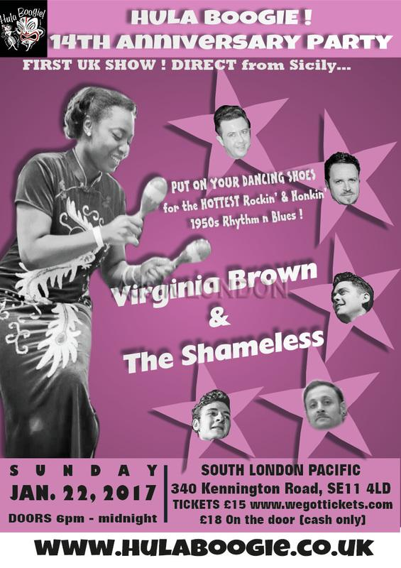 Hula Boogie 1950\'s vintage dance club's 14th Anniversary Party 22 Jan #1