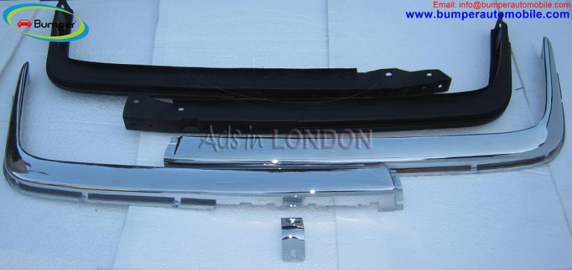 Mercedes w107 chrome bumper type euro by stainless steel #1