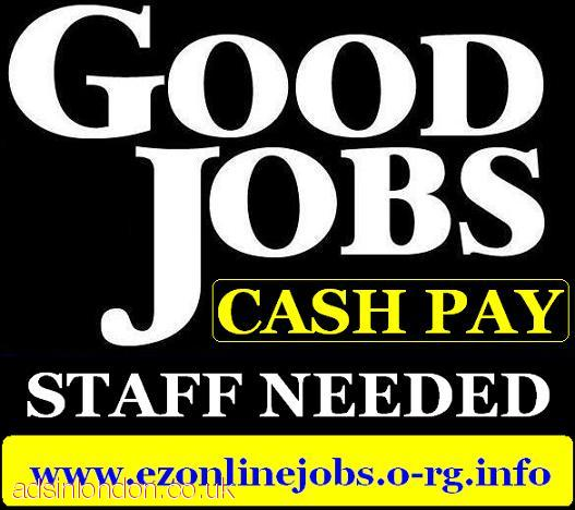 Urgently Staff Wanted (Attractive Cash Pay)