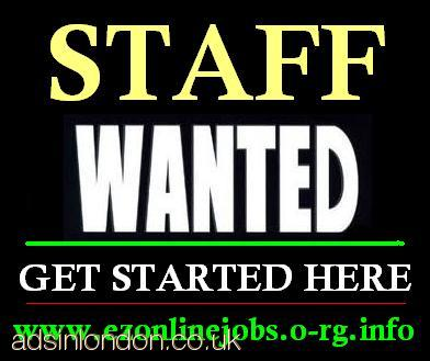 URGENT STAFF REQUIRED (PART-TIME)