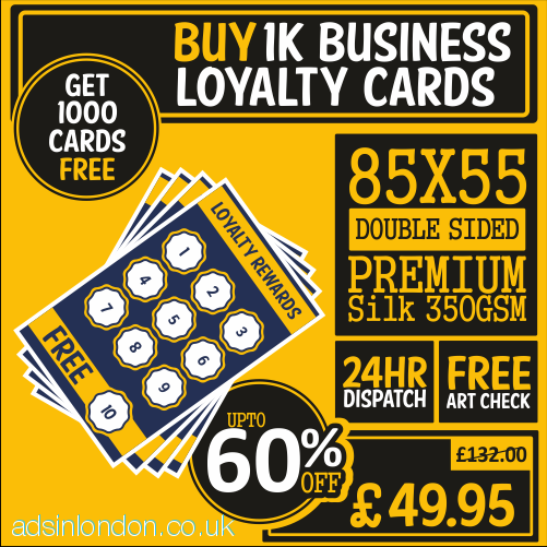 Buy 1000 Business Cards and Get 1000 Free | Business Card Sizes