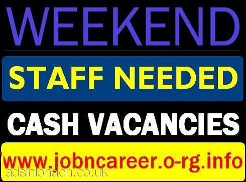 Part Time STAFF Needed + Cash In Hands
