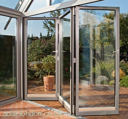 Cheap Bi-folding doors, sliding doors fitting, installation  London