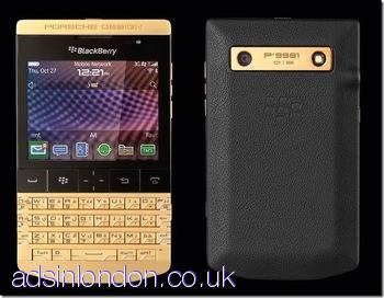 Blackberry Porsche Design P9982, P9981 (Gold, Silver , Black colors)