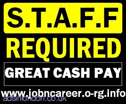 Part-Time Staff Wanted (Great Cash Pay)