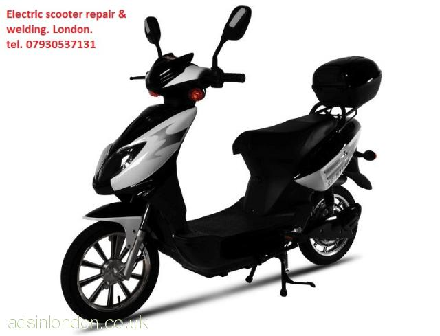 Electric scooter repair, conversion, welding,  modification London